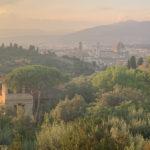 vista sulla cupola di Brunelleschi