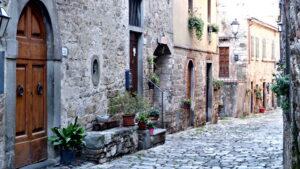 Montefioralle in Toskana