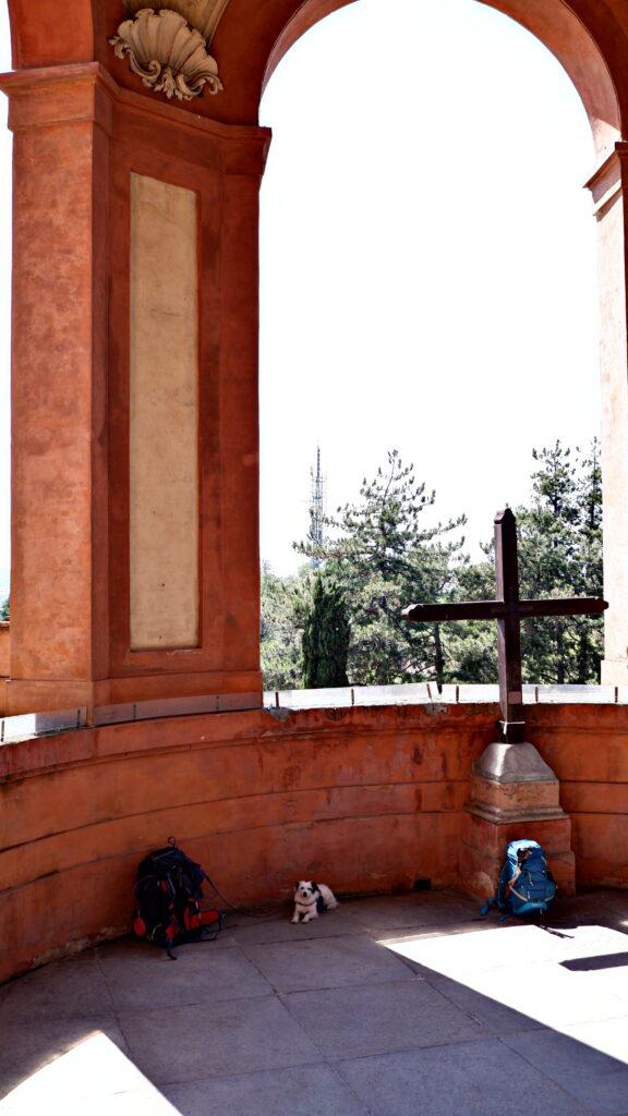 Maia al santuario di San Luca