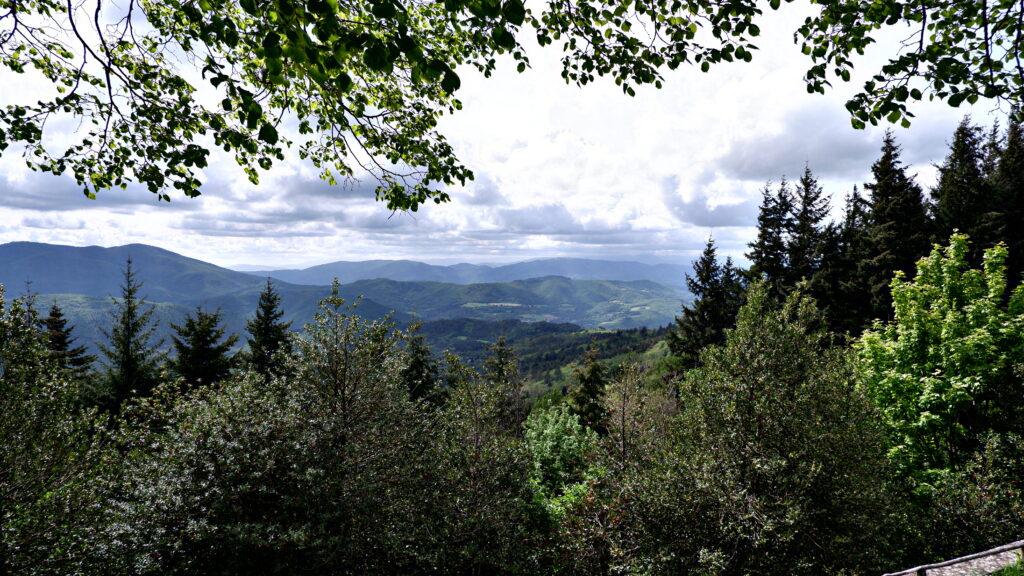 Vista dal Convento di Monte Senario