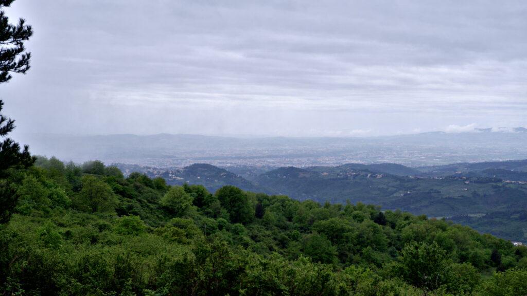 Firenze e Fiesole lontanissimo