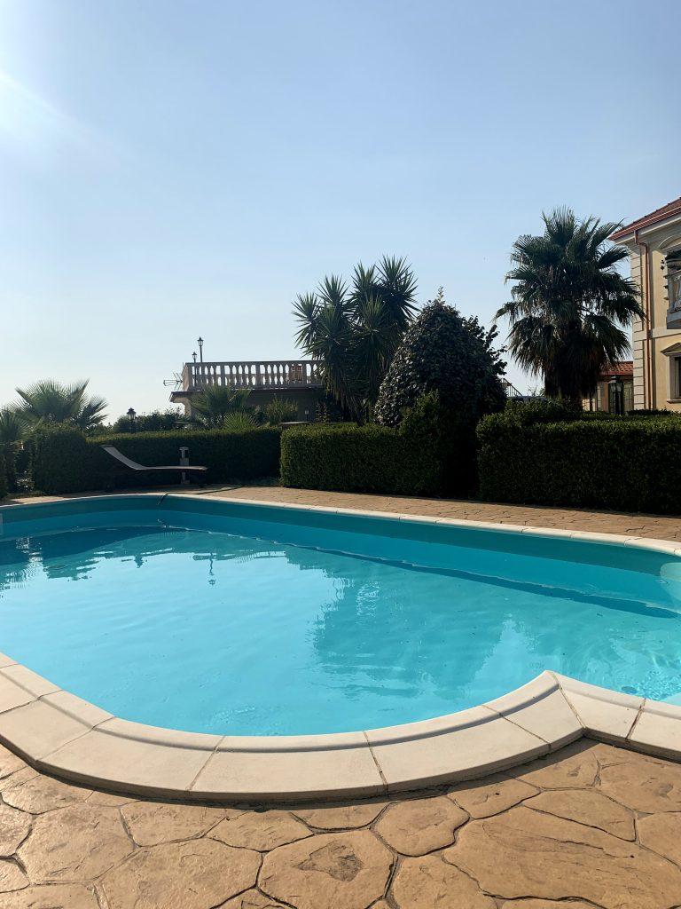 La piscina di Villa Elisa
